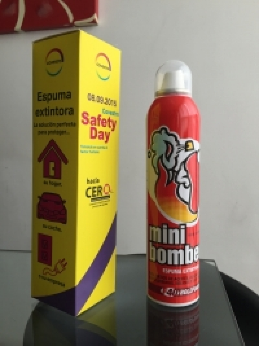 Minibombero elegido por Covestro para su Safety Day